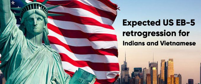 Expected US EB-5 retrogression for Indians and Vietnamese